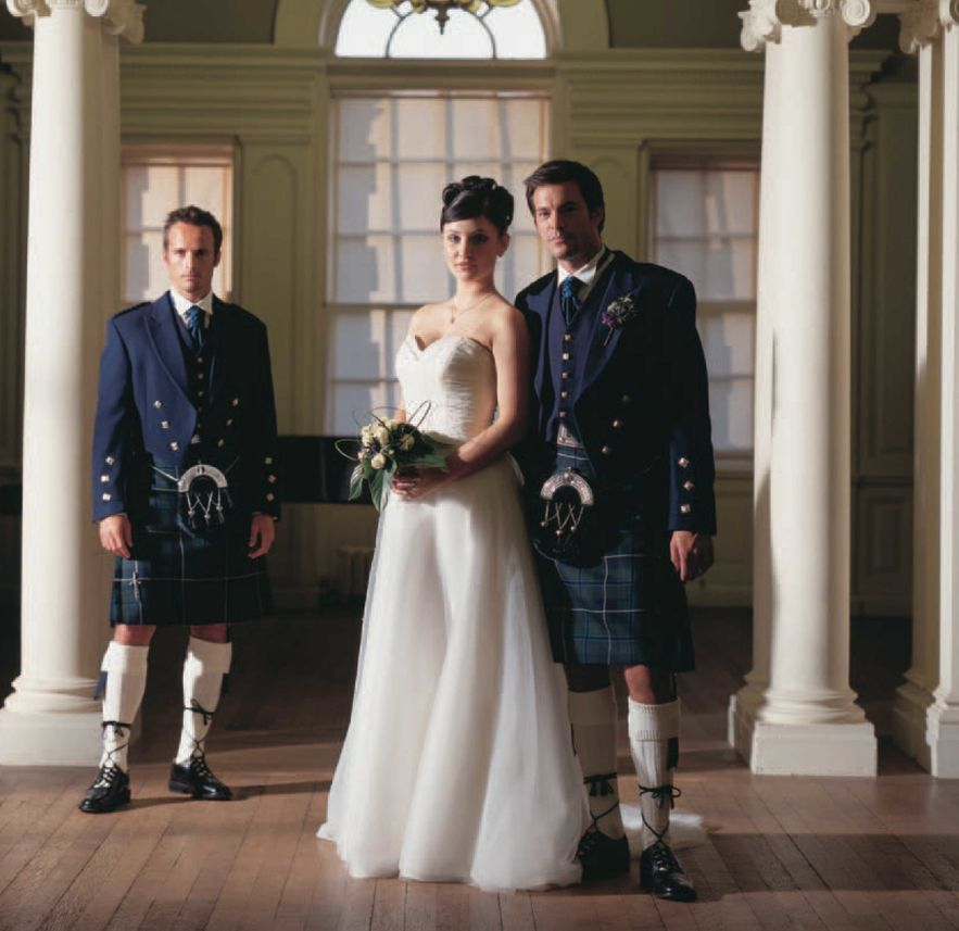 Traditional Wedding Kilts